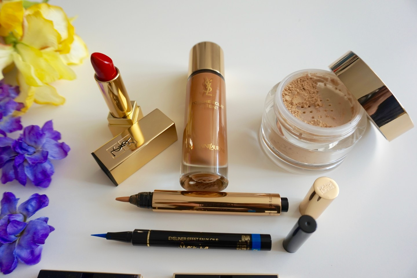 gold-ysl-beauty-yves-saint-laurent-beauty-haul-raychel-says