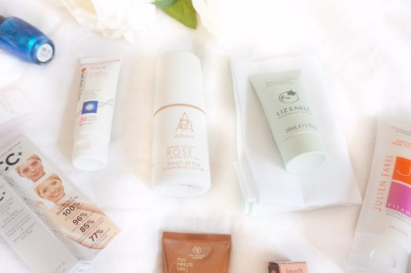 raychel-says-QVC-TILI-beauty-box-lix-earle-benefit-skin-care-products