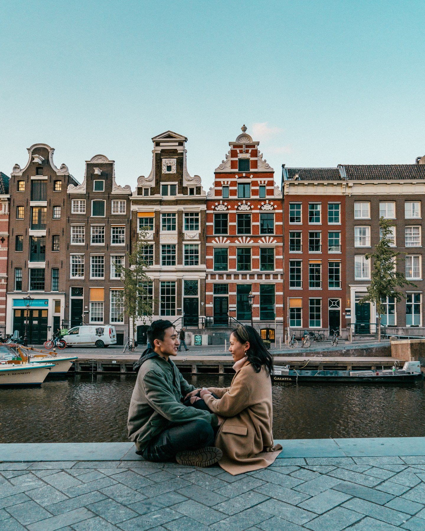 Amsterdam couple