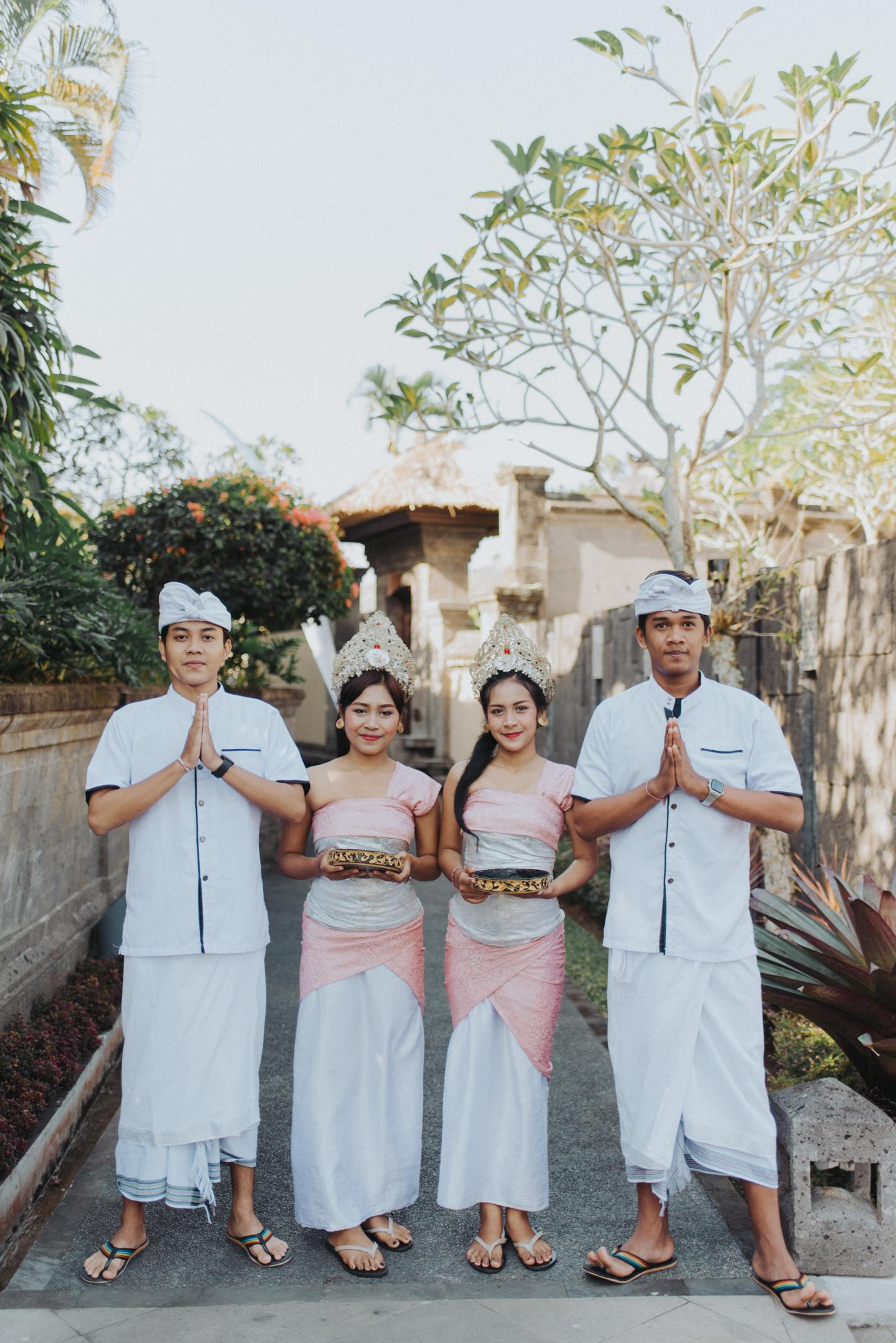 destination wedding staff