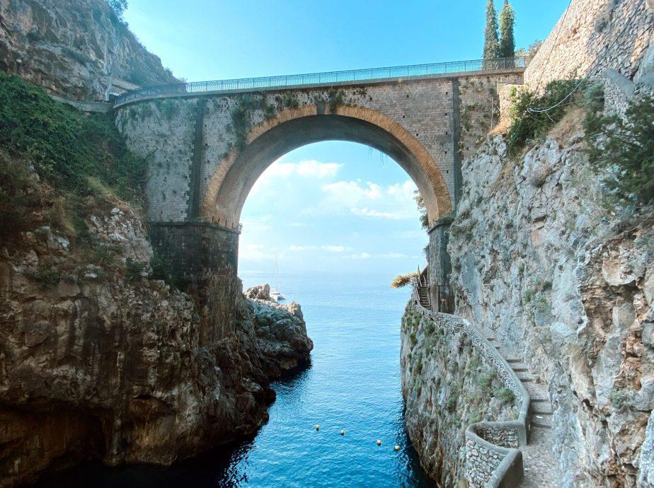 How to get to: Fiordo di Furore