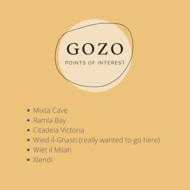 Gozo Malta points of interest