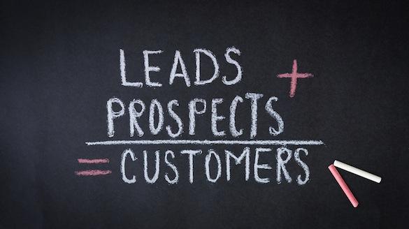 Leads, prospects, customers formula