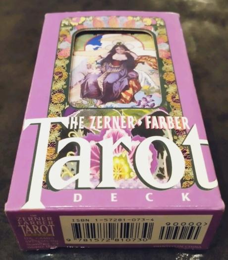 Tarot, TheZernerFarberTarotDeck, usgames systems inc, ザーナ・ファーバー・タロット, タロット, タロットカード