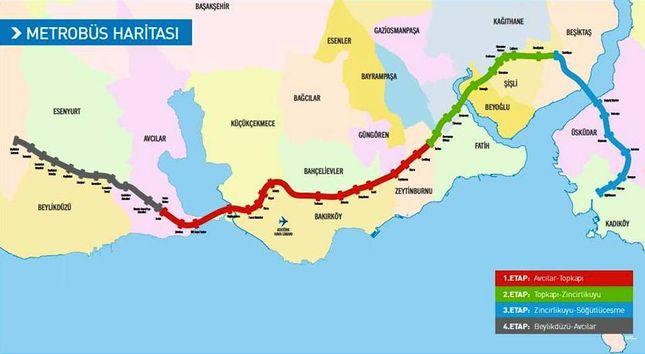 travel information metrobus maps