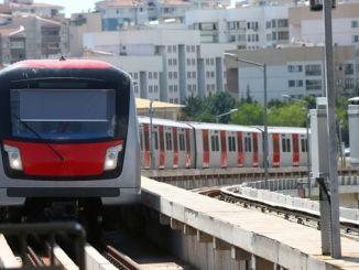 ankara metro asama kizilay sogutozu line completion works necatibey station drilling tunnel construction