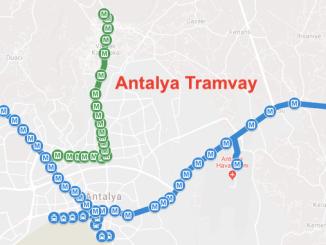 Mapa ng Antalya Antray