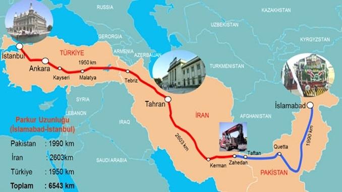Türkiye Pakistan Yuk Treni Seferleri