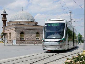 Konya-Schienensystemkarte 2