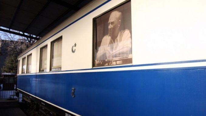 Ataturkun wagon and white train