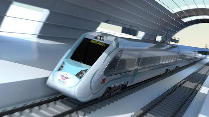 domestic financial electric train