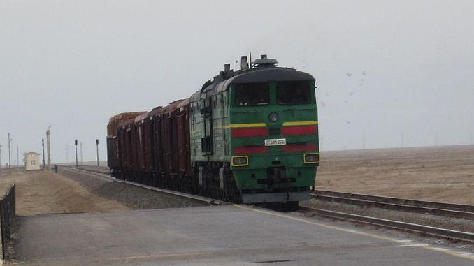 Sentraal-Asië en Afganistan sal met spoorweg gekombineer word