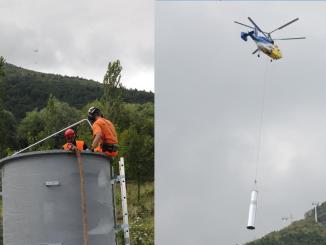 bursa uludag cable car installation
