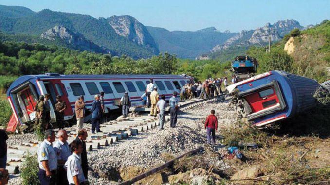 Pamukova train accident in the year