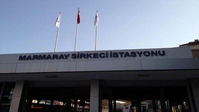 marmaray sirkci station