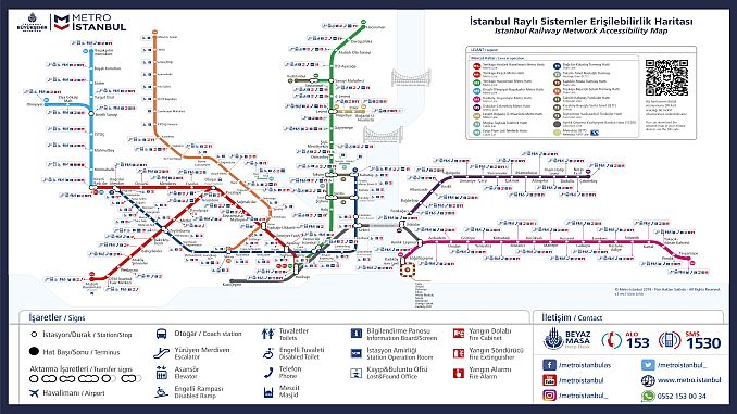 istanbul metro access map