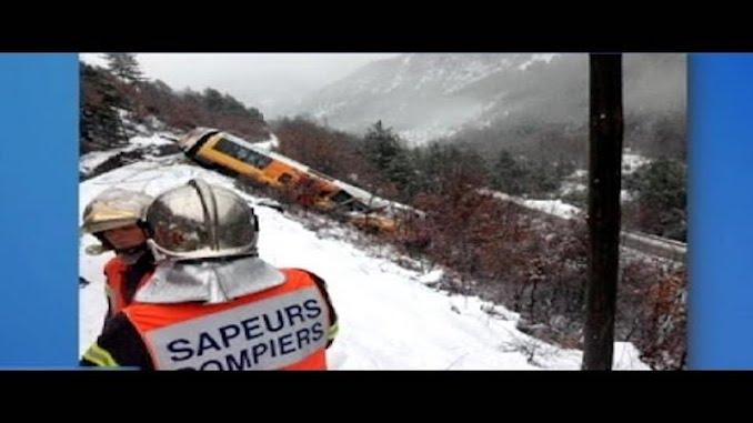 Францын галт тэрэгний осол
