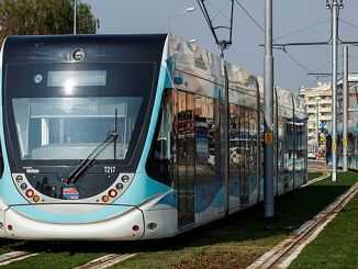 Izmir Tram Lines Map