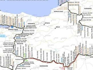 Ankara Istanbul High Speed ​​Line Route Ramani