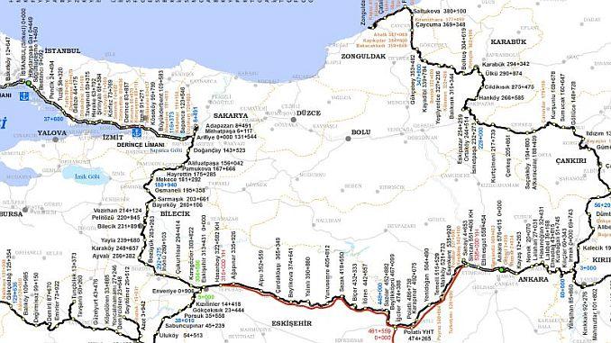 Ankara Istanbul High Speed Train