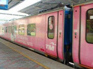गुलाबी ट्राम