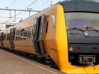 laser gun on dutch trains