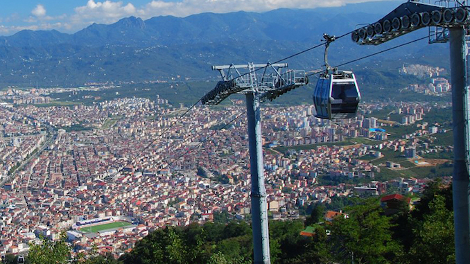 unye cable car