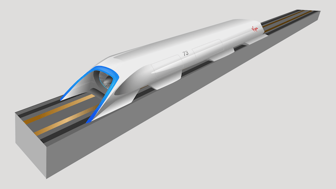 Hyperloop without tube