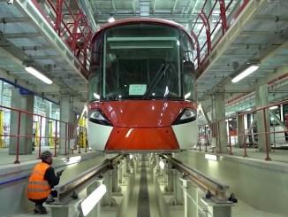 Setif Straßenbahnprojekt