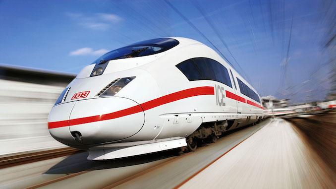 DB tren Deutsche Bahn