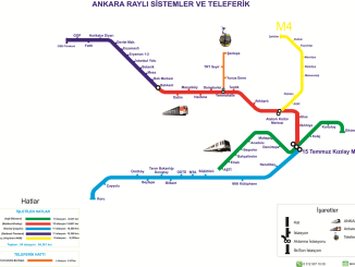 Kort over Ankaray | Kort over Ankaray Line og Ankaray Stops