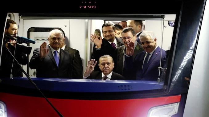 kecioren subway tayyib erdogan