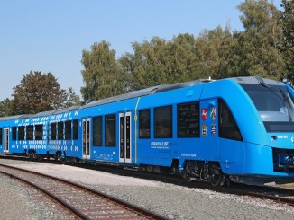hidrojenle calisan tren hydrogen powered train
