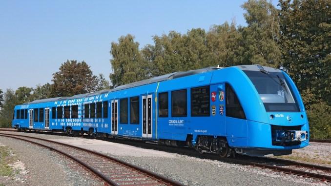 train powered by hydrogen hydrogen powered train