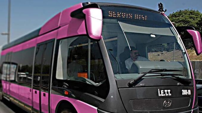 pink metrobus