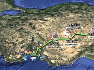 รถไฟความเร็วสูง Antalya Cappadocia