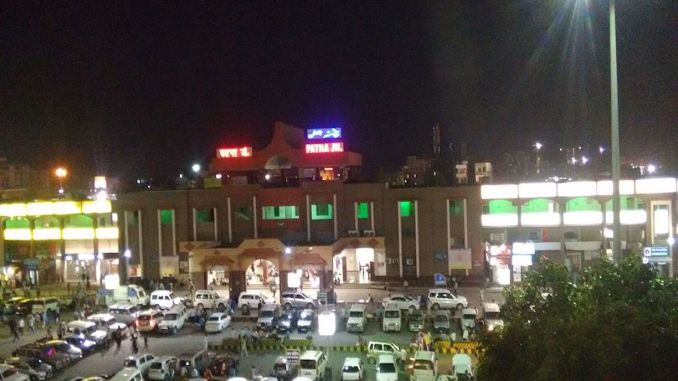 patna railway station india