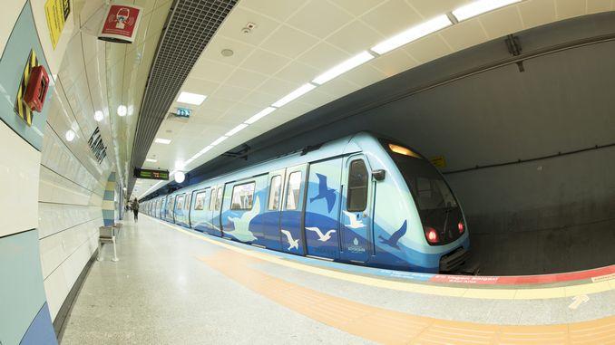 в резултат на търга за закупуване на метрото за специалните новини на железопътната система в Истанбул