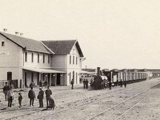 10 kasim 1923 Ferrocarriles de Anatolia