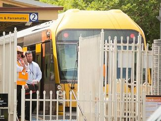 Australia train crash 16 injured
