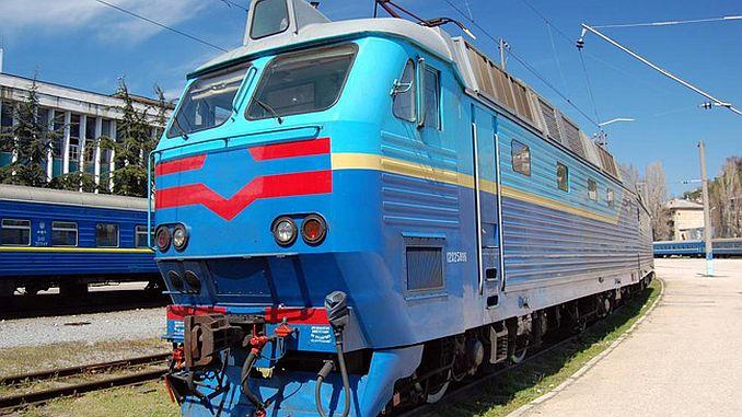 ukraine perkhidmatan kereta api Rusia untuk digantung