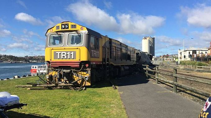 an unmanned yuk train rides in Australia