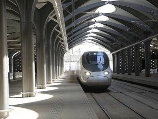 القطار إلى المدينة المنورة