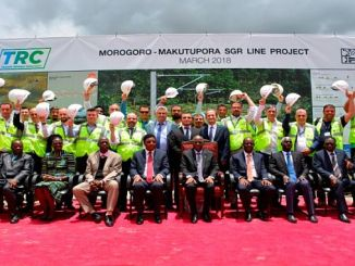 konstruksiesentrum 9 het die top van sentrale en oostelike afrika-pad- en spoorweginfrastruktuur bygewoon