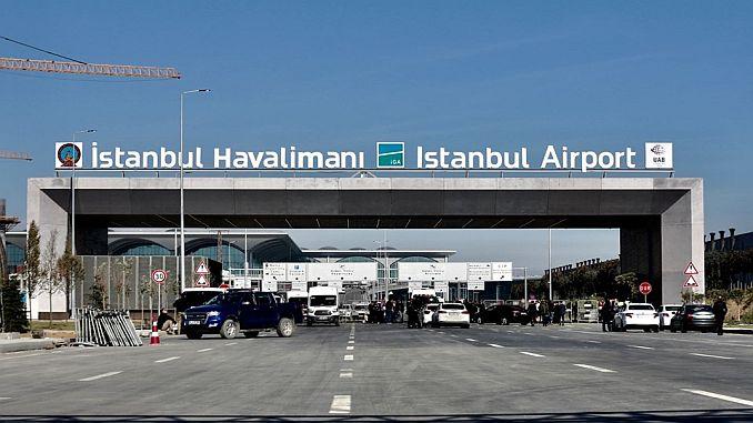 נמל התעופה 3 היה Istanbul airport