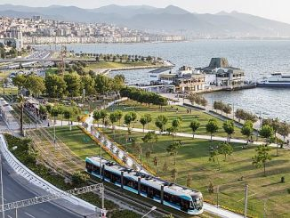 Number of Passengers with Izmir Tram 21 Million Asti