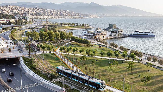 Number of Passengers with Izmir Tram 21 Million Asti