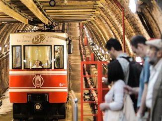 Historical Karakoy Tunel Line