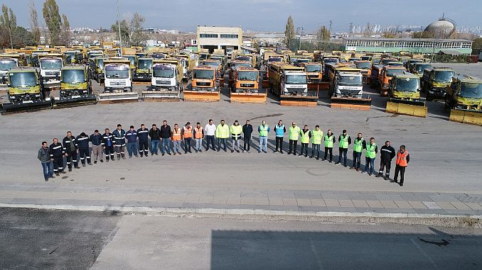 ankara buyuksehir has completed short preparations with its strong fleet