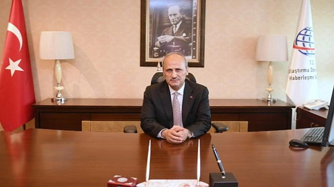 minister gave the mujdeyi istanbul bogazina giant transportation project is coming